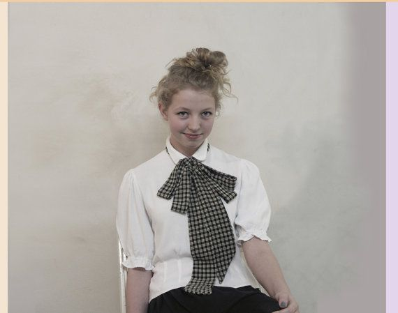 SALE Long tall gingham rocks the house by vonBingen on Etsy