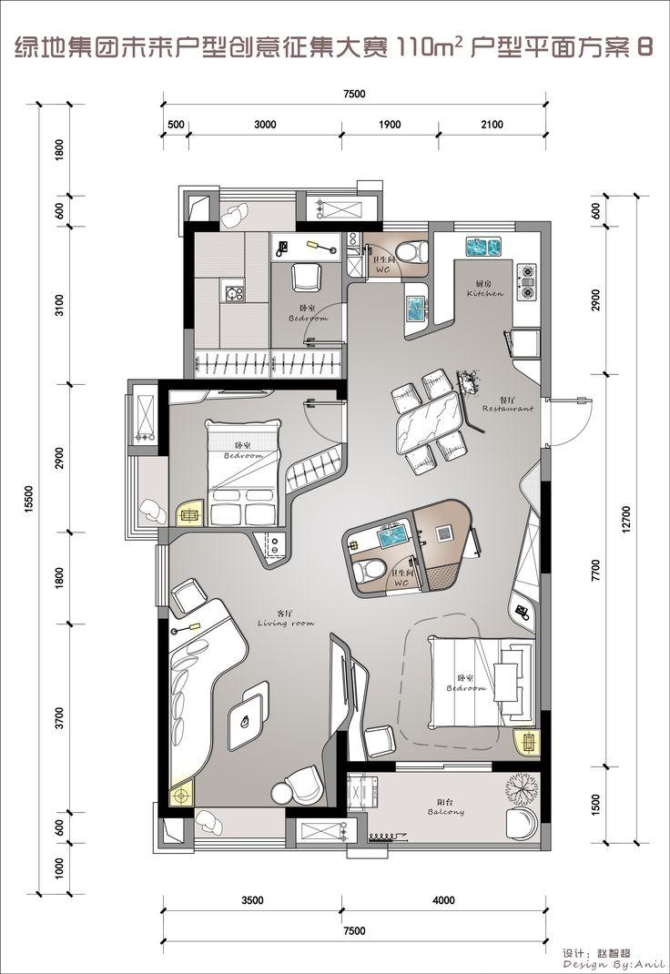 Floor plans  平面
