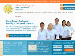 New listing in Dentists added to CMac.ws. Mark S. Frey, DDS in Santa Rosa, CA - http://dentists.cmac.ws/mark-s-frey-dds/86377/