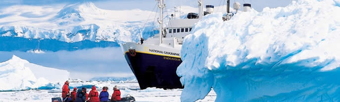Cruising to Antarctica with National Geographic