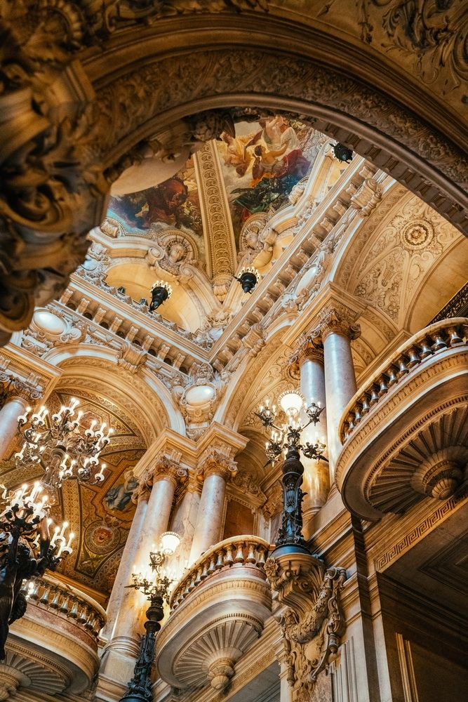 One of the grandest, most exquisite and dazzling architectural masterpieces in Europe. Opéra Palais Garnier's timeless opulence never fails to take my breath away.