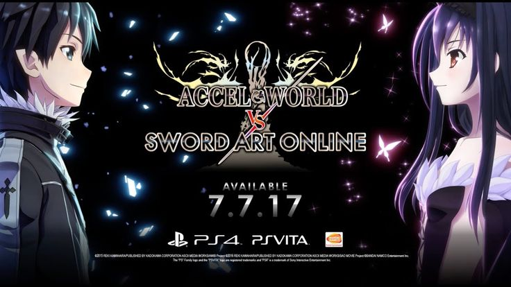 [Video] Accel World VS Sword Art Online Launch Trailer   PS4 PSV #Playstation4 #PS4 #Sony #videogames #playstation #gamer #games #gaming