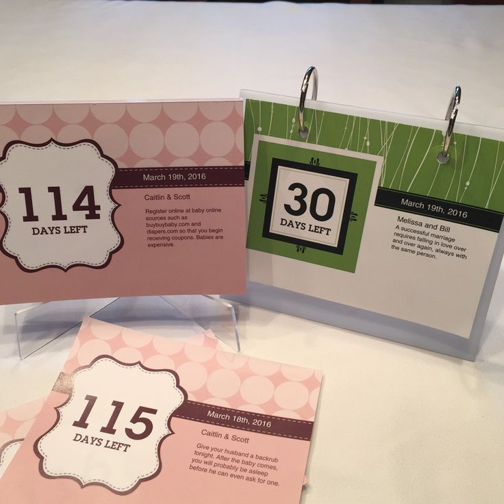 79 best personalized countdown calendars for wedding baby retirement graduation and more