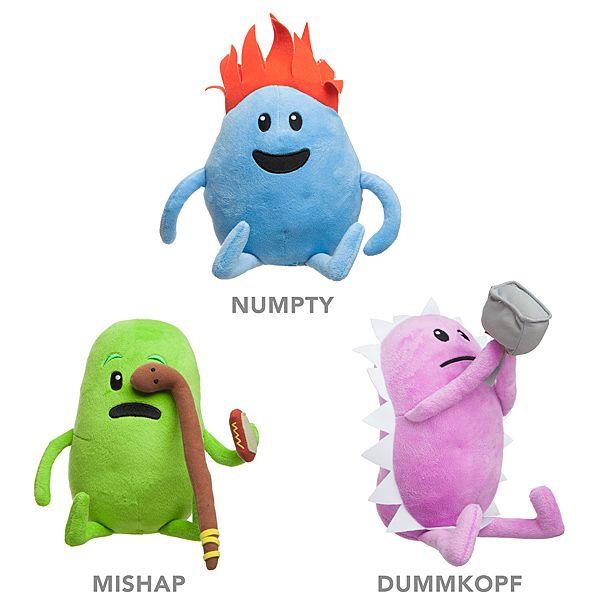 Dumb Ways To Die Plush Toys