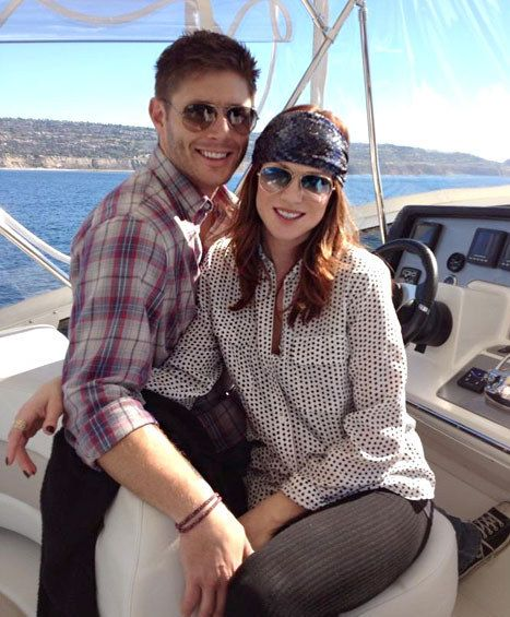 29. Jensen and his wife are adorable. | Community Post: 55 Reason Jensen Ackles Is The Best Person Ever