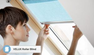 As with the roof windows themselves, Velux and other manufacturers make products that are easy-to-use, nice to look at and very easy to install yourself.  Via fiixmyroof.co.uk