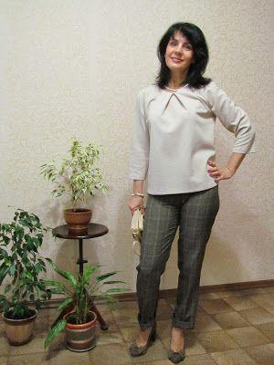 Anzhelika Grebeniuk: Блуза для брючек.