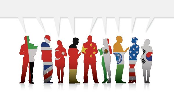 speaking in different languages - Google Search
