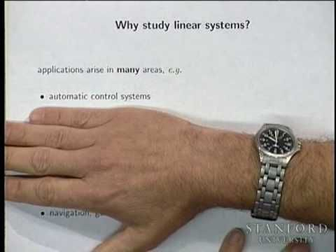Lecture 1 | Introduction to Linear Dynamical Systems - YouTube