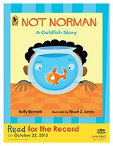 Not Norman Teacher's Guide | Read for the Record Literacy Printables (Gr. K-3) https://www.teachervision.com/childrens-book/literature-guide/76463.html #ReadForTheRecord