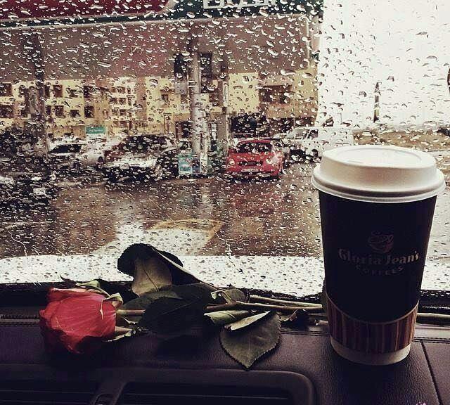 جمال الحياة يختصر في تلك الأشياء البسيطة ك صوت المطر والشتاء وبعض الأشخاص وفنجان قهوة Coffee Flower Aesthetic V60 Coffee