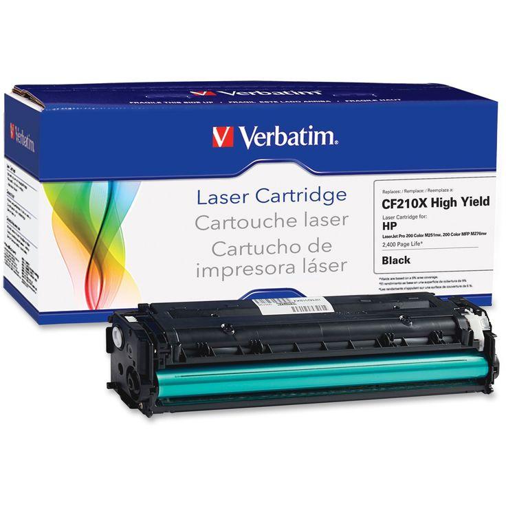 Verbatim Remanufactured Laser Toner Cartridge alternative for HP CF21, #99391