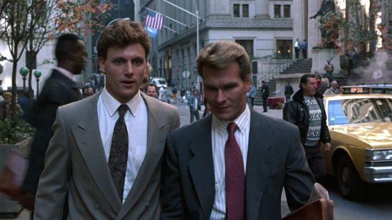 Ghost (1990) - Tony Goldwyn and Patrick Swayze | Movies ... Призрак Фильм 1990