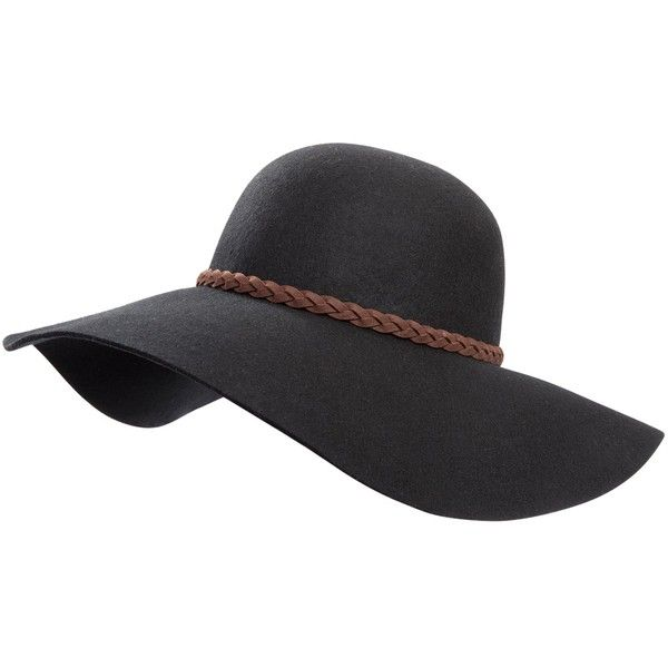 An all-weather winner for the life nomadic.  A wool base andfeather trim make for a style that's made to travel anywhere you do.  Wide brim wool hat.  Faux bra…