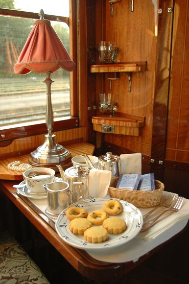 Breakfast from Paris to Istanbul on the Orient Express
