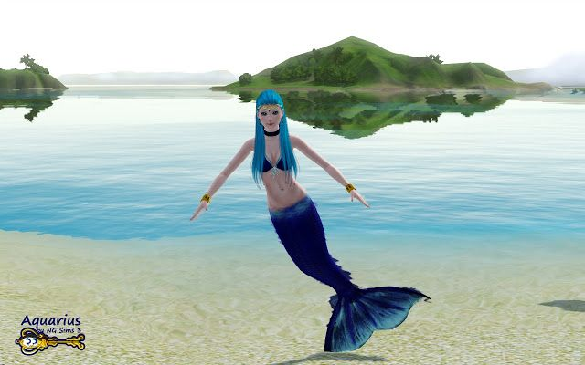 sims 3 supernatural how to become a mermaid