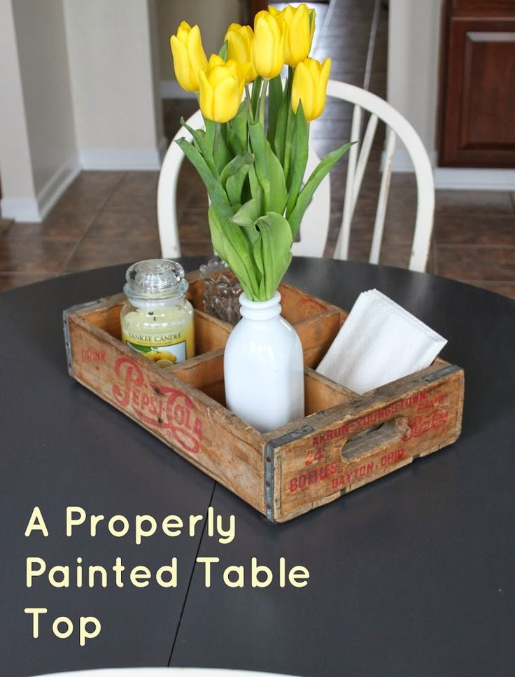 Reinvented | The Tale of the Painted Table Top Trouble - Reinvented