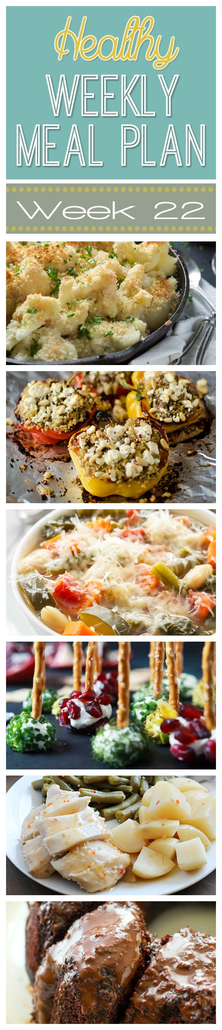 Healthy Meal Plan Week #22