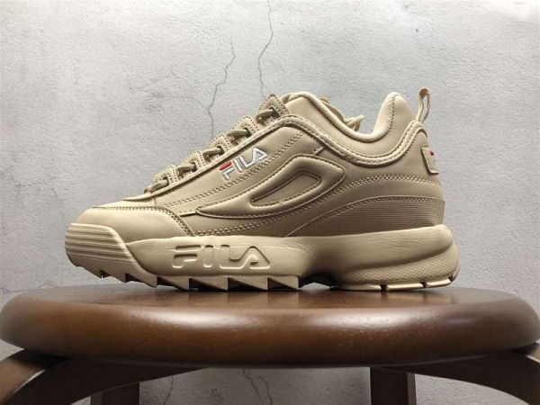 Fila Disruptor II Synthetic Apricot Pink White FW01655-300 ... 1efb7b313e