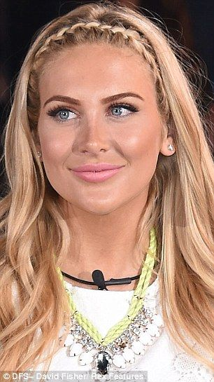 she looks gorgeous.. OF COURSE I watched The Hills, lol>> Perfectly plump: Stephanie Pratt showed off suspiciously fuller lips as she made her way into the Big Brother house at London's Elstree Studios on Monday night