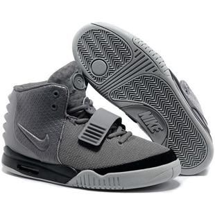 http://www.anike4u.com/ Nike Air Yeezy 2 Grey Black Kanye West 2013 Mens Nike Shoes AAA Grade 998MY17