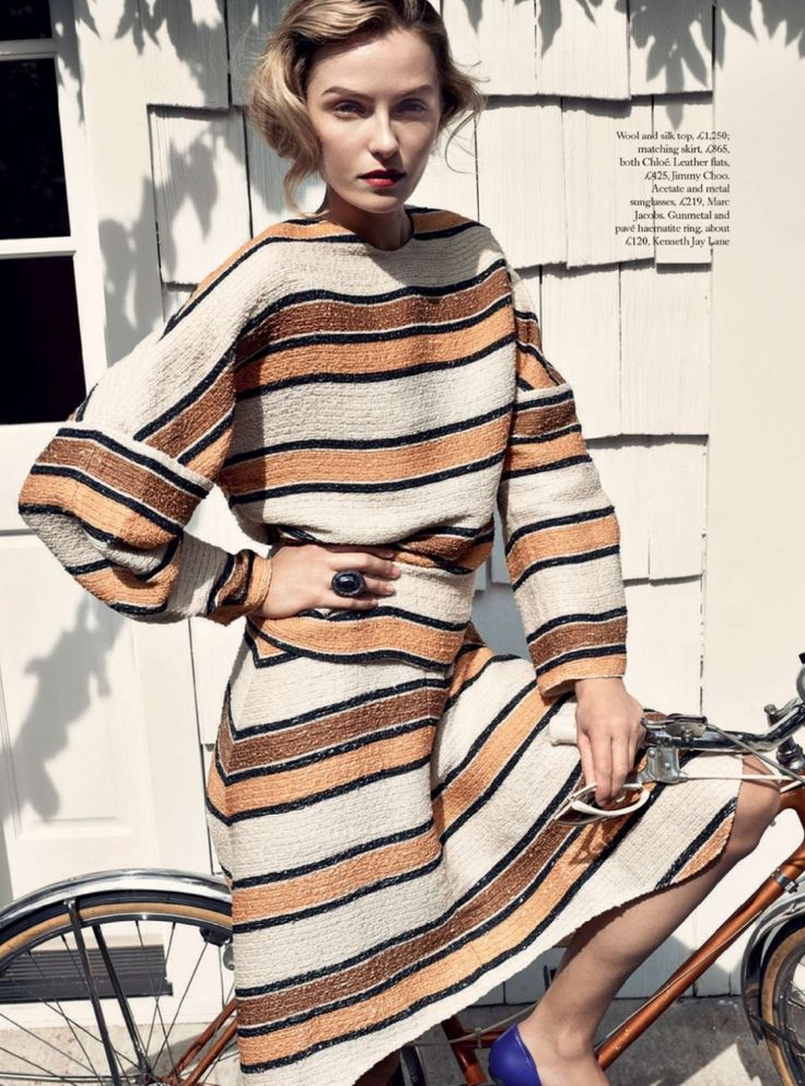 Harpers Bazaar UK Editorial January 2015