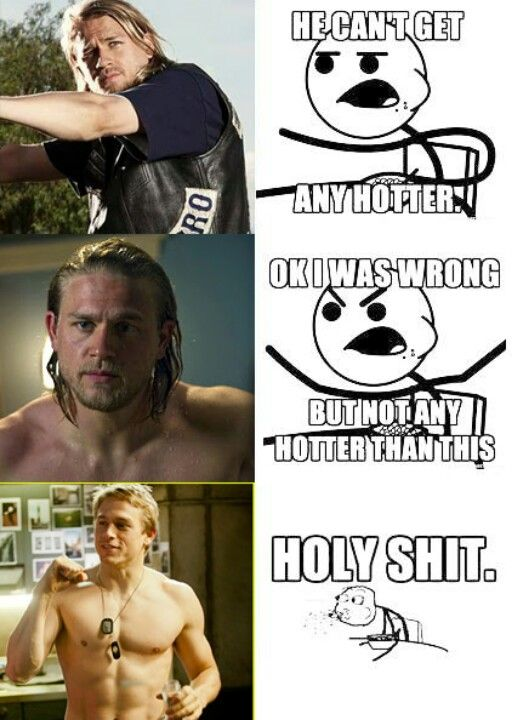 lmfao this is me when i watch sons of anarchy for real tho!!<3