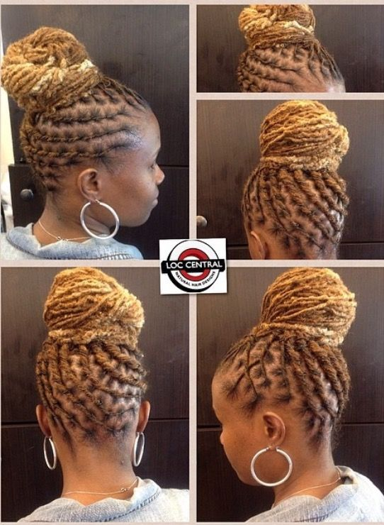 Dope Loc Styles by Loc Central! (Black Women Natural Hairstyles) - 483 Best Sisterlocks & Styles To Try Images On Pinterest Natural