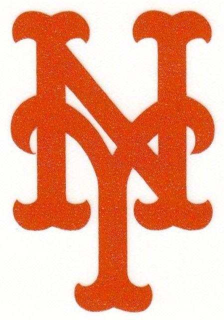 REFLECTIVE New York Mets fire helmet decal sticker yeti WV hardhat  | eBay