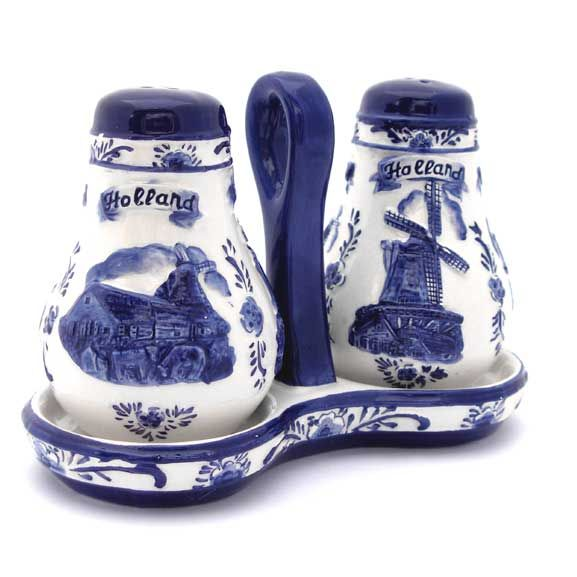 Peper en zoutstel - Holland   Delfts Blauw