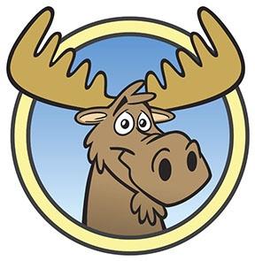 Moose face cartoon - photo#13