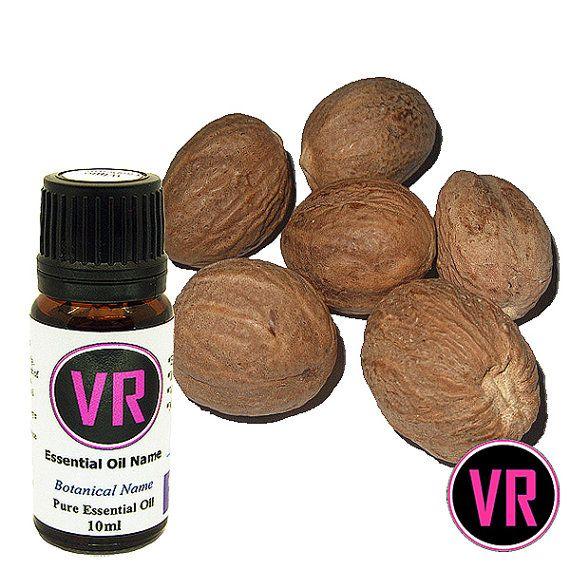 10ml Nutmeg Myristica fragrans Essential Oil by VandaRoseAroma