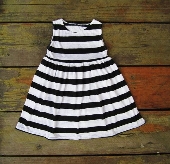Black And White Toddler Dresses - Artee Shirt