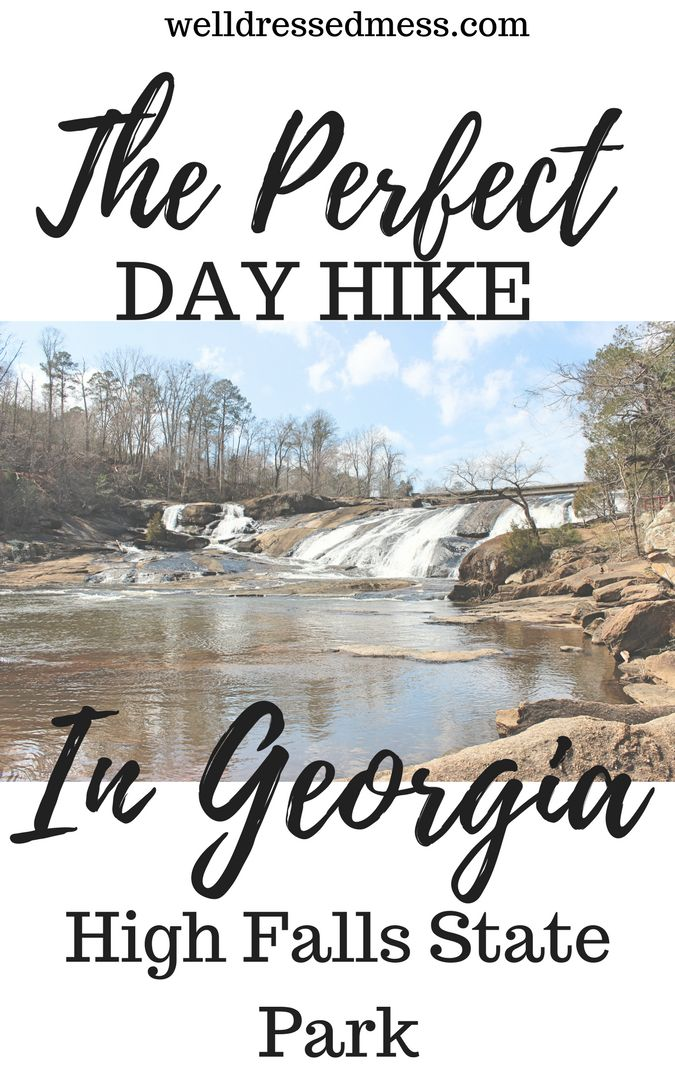 High Falls State Park in Georgia is a must do. Perfect picnic, camping, day hike, etc. It's beautiful! Great read.
