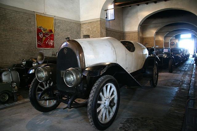 [MotorValley TOP5] Collezione Mario Righini: FIAT CHIRIBIRI, 1912 | Credits GIOVINAZZO