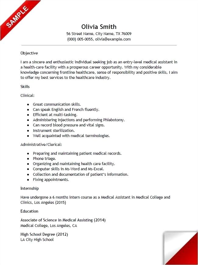 26 Creative Resume Job Examples Tips In 2020 Medical Assistant Resume Resume Tips No Experience Administrative Assistant Resume