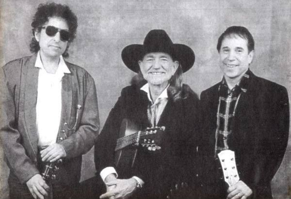 Bob Dylan With Willie Nelson and Paul Simon
