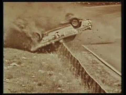 Bill Brown crashes at Bathurst in 1971