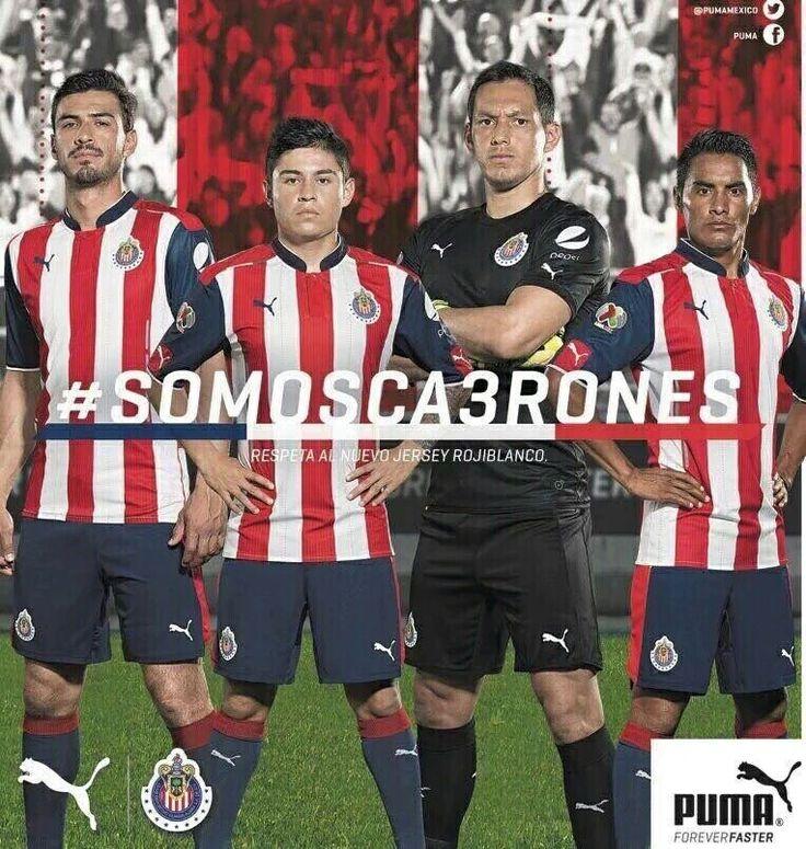 Nueva Piel Chivas #SOMOSCA3RONES