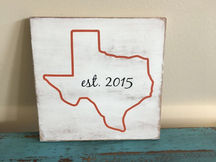 Rustic Wooden State Outline Established Sign/Home Sign/State Sign/State Outline Sign/Established Wood Sign/Housewarming Gift/Closing Gift by KobersCreations on Etsy https://www.etsy.com/listing/521185261/rustic-wooden-state-outline-established