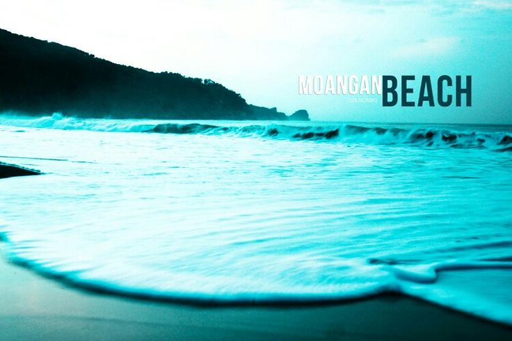 Pantai Modangan Hawai Indonesia. MALANG