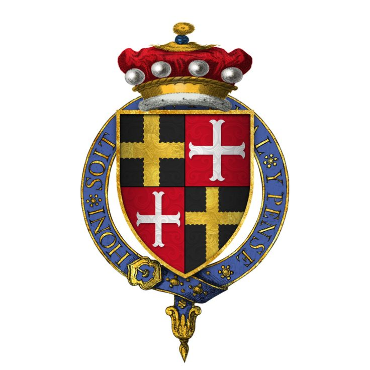Robert Willoughby, 6th Baron Willoughby de Eresby, KG(1417) (c.1385 – 25 July 1452) English baron+ soldier Hundred Years' War/Siege Caen(1417)+Rouen(1418)+Melun(1420)+Meaux(1422)+Le Mans(1425)/ he served 1412-13 with Thomas of Lancaster 1.Duke of Clarence(KIA 1421 Bauge), on his expedition to Normandy+Bordeaux. In April 1415 he attended the great council which approved plans for King Henry V's invasion of France, and on 5 August 1415 he was among the peers who tried Richard Conisburgh…