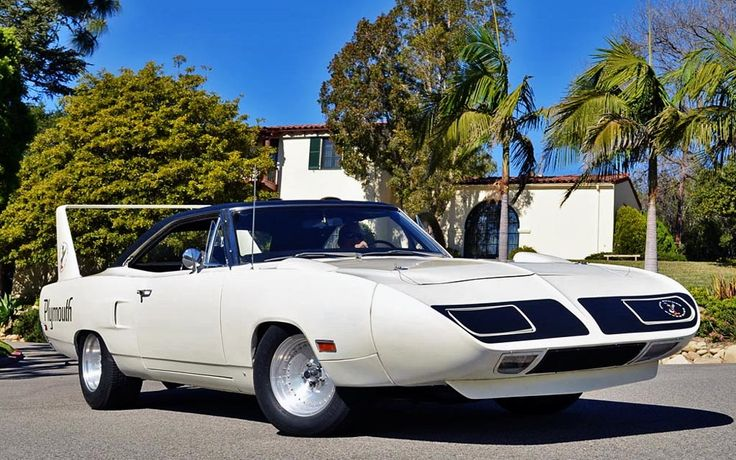 Winged Warrior: 1970 Plymouth Superbird - http://barnfinds.com/winged-warrior-1970-plymouth-superbird/