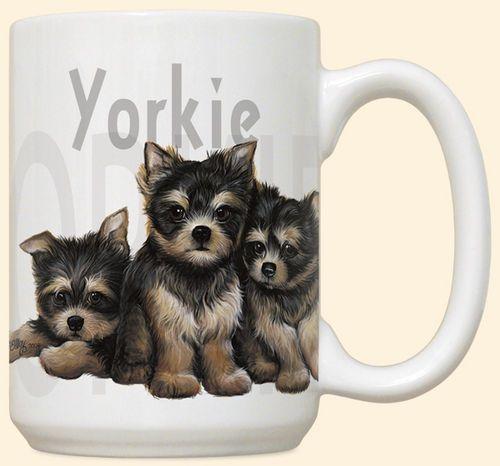 Yorkie Puppies Mug