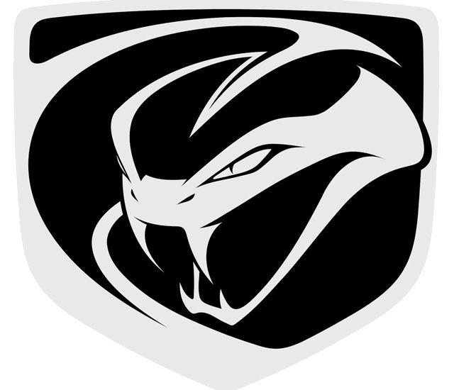 Dodge Viper Logo Present Dodge Viper Logo Color Schemes Car Bumper Decals