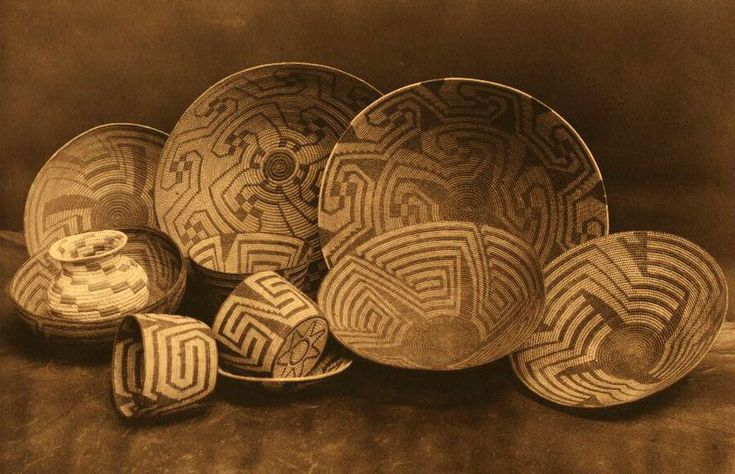 Native basketry connects me with the individual maker. A connection to cultures and generations past.