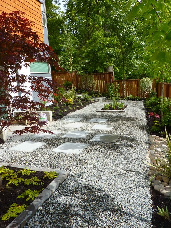 gravel patio design pictures remodel decor and ideas page 3 - Garden Design Gravel Patio