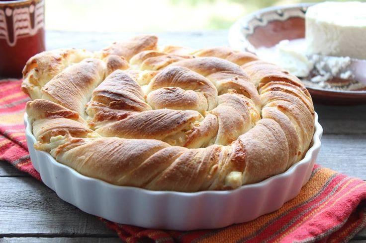 Tutmanik… Il tipico pane al formaggio bulgaro