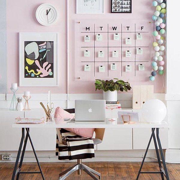Gençler için Home Ofis Dekorasyonu Fikirleri