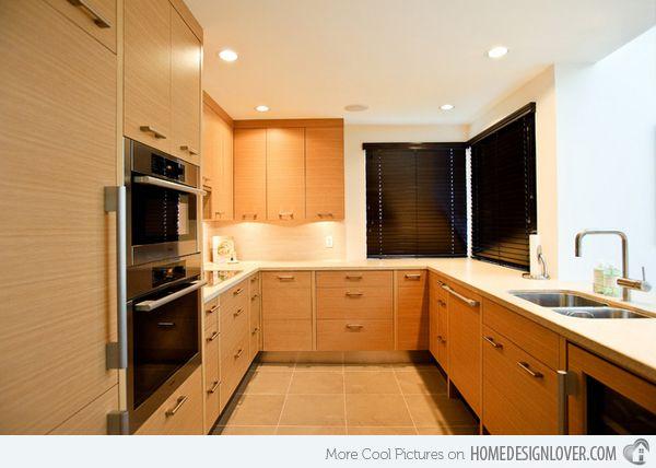 15 Contemporary U Shaped Kitchen Designs Part 91